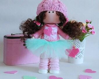 POUPEE textile poupées doll poupée personnalisée à la main poupée d'art