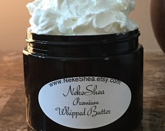 Premium Whipped Organic Butters