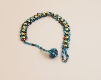 Petite beaded bracelet