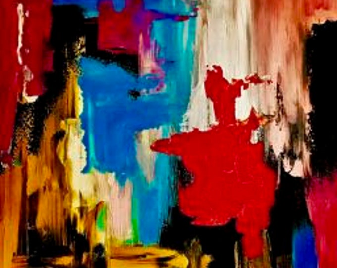 """Abstract Painting """"Bound"""""""