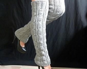 leg warmers  dancing  ballet  knit leg warmers Women  Accessories Legwear  Winter  very long Winter Accessories