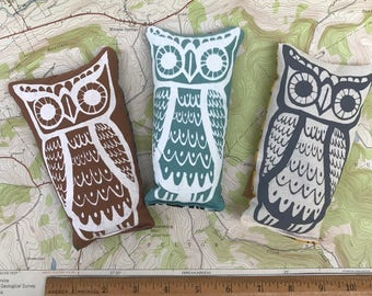 Owl Set Of 3 // Goodnight// Cold Hot Therapy// Sachet// Gift Pack//Stocking Stuffer