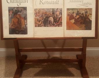 Choice of Vintage Antique Abrams Art Books, Gauguin, Rouault, Toulouse-Lautrec ~~ Historic Artists, Famous Artists, Classic Artists