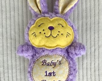 Stuffed Easter Bunny, Stuffed Bunny, Stuffed Rabbit, Stuffed Animal, Easter gift, Easter Basket Filler