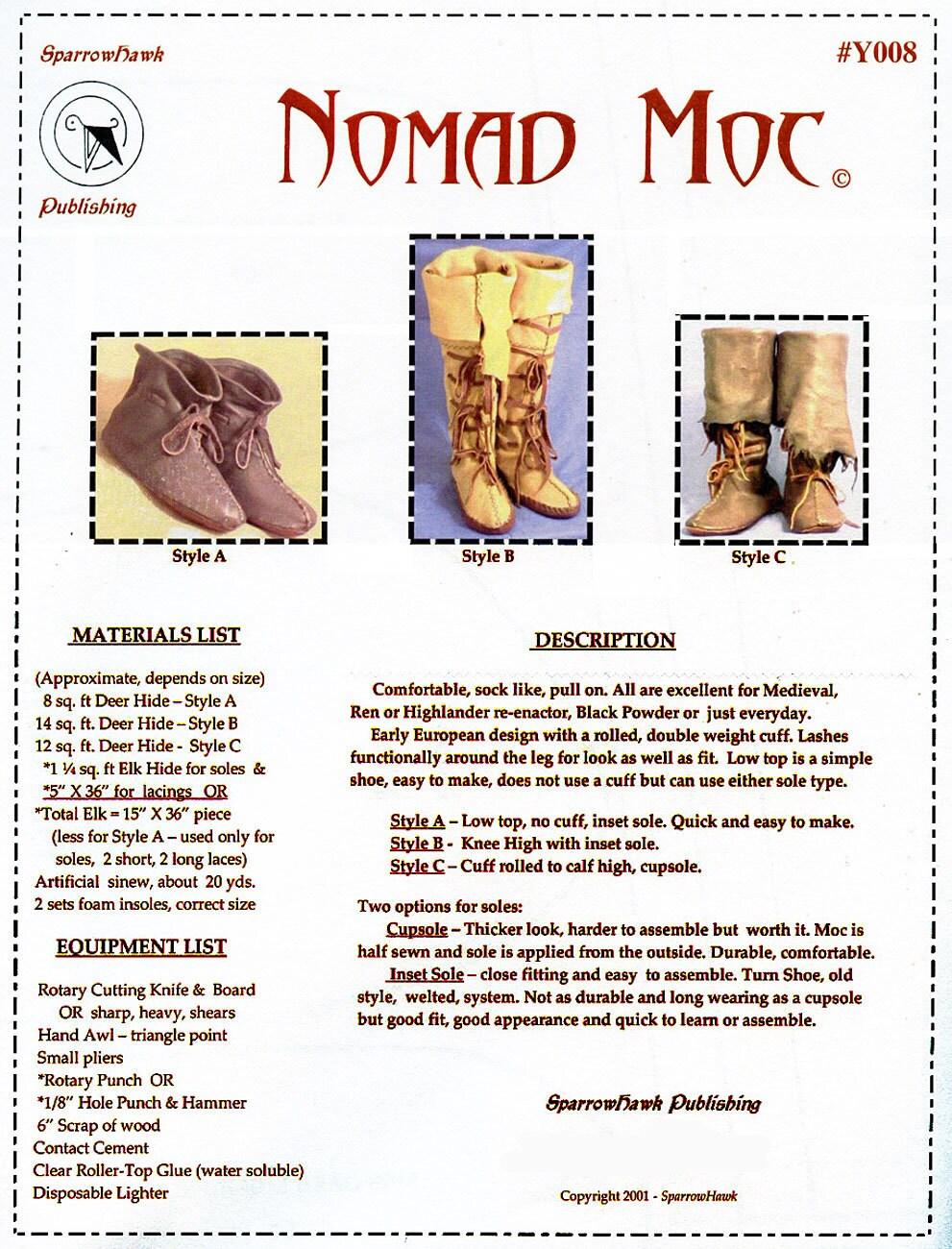 Medieval, Renaissance, Highlander, Nomad Boots, Moccasin, Shoes in 3 ...