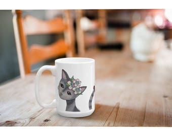 Cat mug, cat coffee mug, cat lover mug, cat lover cup, Mothers day mug, mothers day coffee mug, mothers day cups, cat lover gift, cat gift