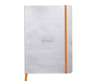 Rhodia Goalbook - Silver A5 - Dot Grid