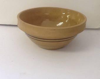 Vintage Crock Bowl