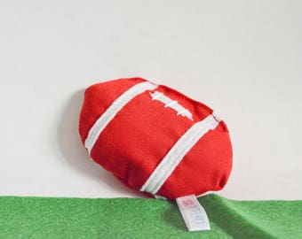 Catnip football, Catnip toy, cat toy, pet lover gift, Organic Catnip toy,  cotton cat toy, cat toy