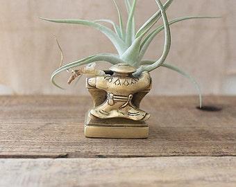 Vintage Brass Incense Burner, Asian Decor