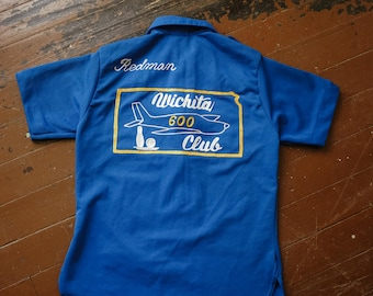 Vintage Chain Stitched Bowling Shirt
