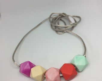Teething necklace 'Equinox' Silicone BPA free