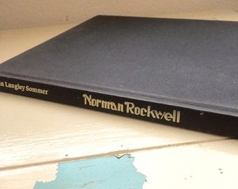 Norman Rockwell by Robin Langley Summer, art book, coffee table book, hard cover, art history, american art, folk art, american history