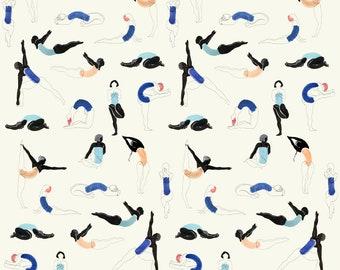 Yoga Poses Pattern