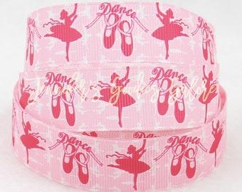 """1.5"""", Dance Ribbon, Pink Ribbon, Ballet Ribbon, Ballerina Ribbon, Hair Bow Ribbon, Ribbon for Bows, Dance Bows, Wholesale Ribbon"""