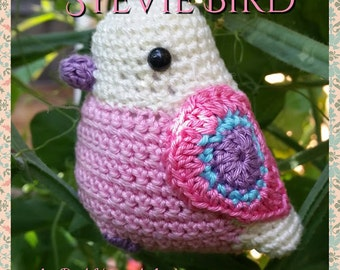 Stevie the Amigurumi Bird crochet pattern