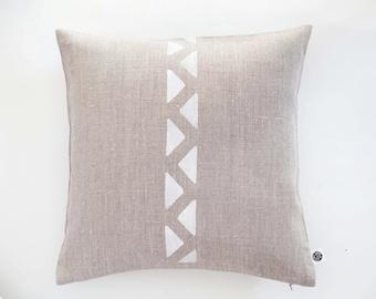 Minimalist throw pillow, pillow cover, linen decorative pillow, linen bedding, linen pillows, cushion cover, linen cushion, linen pillowcase