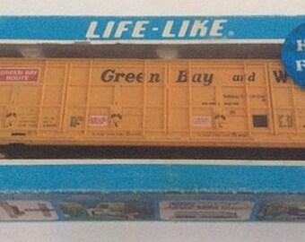 LifeLike Green Bay & Western Box Car