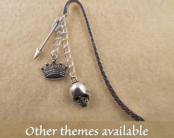 Shakespeare bookmark with the theme of your choice.