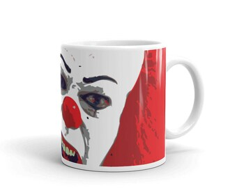 It Pennywise the Clown Pop Art Horror Coffee Mug