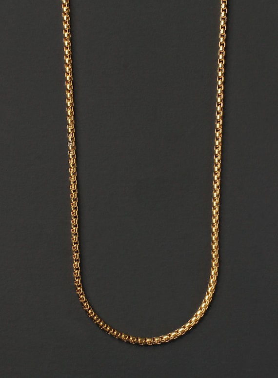 Minimalist jewelry for men mens necklace gold chain aloadofball