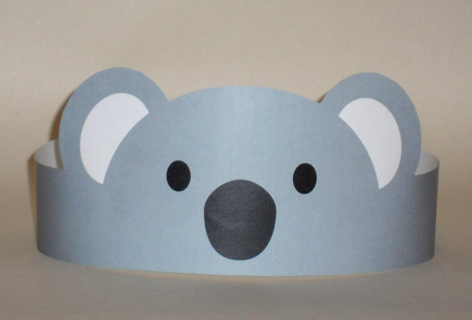 koala paper crown printable 🔎zoom
