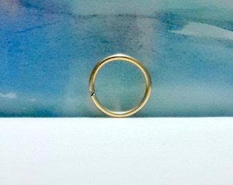 14g Conch Hoop-16g  Conch Earring- Conch Jewelry- Conch Ring-  Conch- Conch Piercing Jewelry-14g  16g 18g 20g 22g , 11-16mm Inner Diameter
