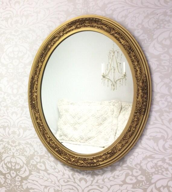 decorative vintage mirror for sale large oval gold mirror. Black Bedroom Furniture Sets. Home Design Ideas