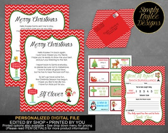 Christmas Elf Letter - Letter from the North Pole