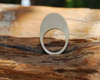 Sterling Silver Ring - minimal - contemporary design