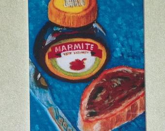 Original Fridge Magnet Of Marmite