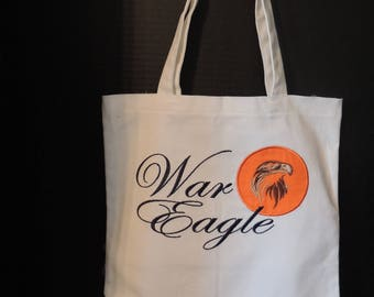Auburn Canvas Bag, Tote, College