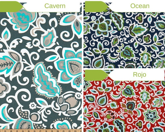 Outdoor Floral Fabric   Premier Prints Outdoor Faxon   Fabric By The Yard   Outdoor  Patio Fabric From FreshCanopyPrints On Etsy Studio