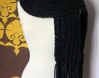 Chunky knit scarf - more colors