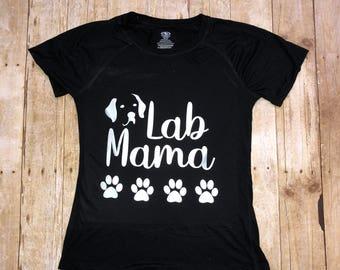 Lab Mama Short Sleeve Tee