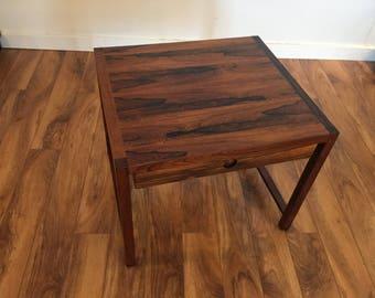 Brode Blindheim Rosewood End Table