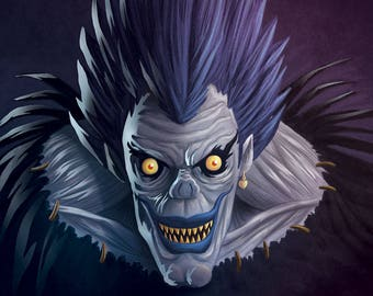Ryuk Death Note Poster
