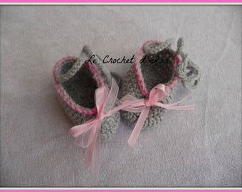 CROCHET BABY SHOES SLIPPERS