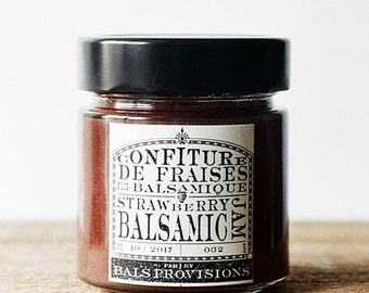 Strawberry Balsamic Jam - 212mL