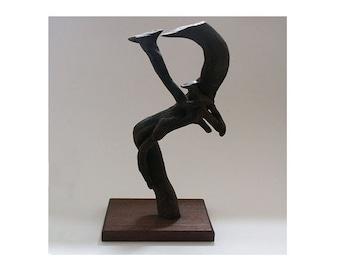 Meerkat family-Bogwood/tree-root/driftwood sculpture