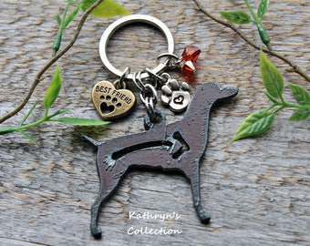 Vizsla Key Chain, Vizsla Spirit Dog Key Chain, Hungarian Vizsla