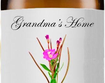 Palmarosa Oil (Rose Geranium Oil)- 5mL+ - Grandma's Home 100% Pure and Natural Theraputic Aromatherapy Grade Essential Oils