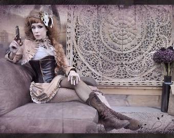 Victorian skirt and Bolero