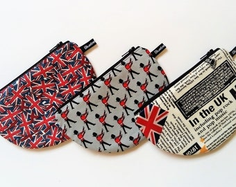 Half moon pouch, Something British