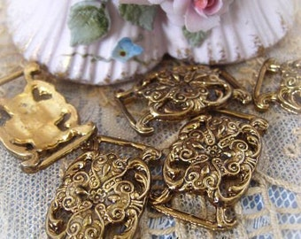 Brass Elaborate Findings Buckle