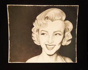 Portrait of Marylin Monroe