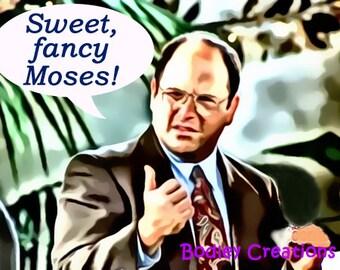 "Seinfeld ""Sweet, fancy Moses!"" Birthday Card"