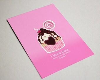 I love you more than cupcakes, I swear