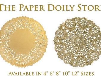 """GOLD DOILIES 