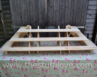 Ultimate Portable Riser Craft Fair Display Shelving Stand